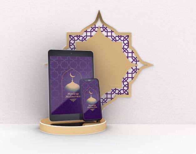 Maquette De Tablette Numérique Et Smartphone PSD Premium