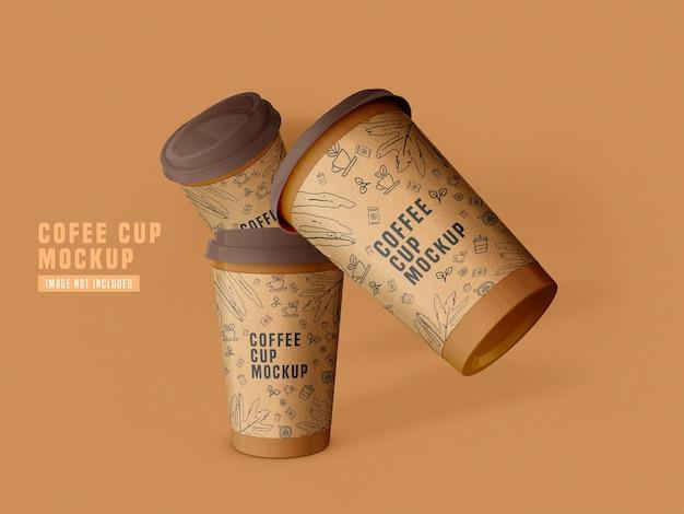 Maquette De Tasse à Café En Papier à Emporter Psd Psd gratuit