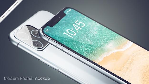 Maquette De Téléphone Parfaite Pixel Moderne PSD Premium