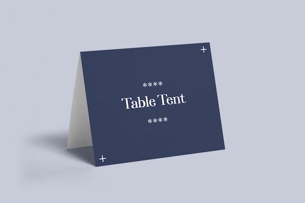 Maquette De Tente De Table PSD Premium