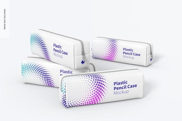 Maquette De Trousse à Crayons En Plastique PSD Premium