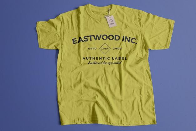 Maquette de tshirt couleur Psd gratuit