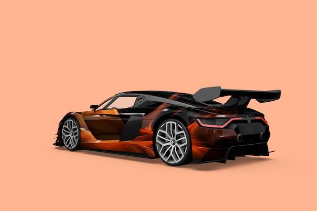 Maquette de voiture isolée Psd gratuit