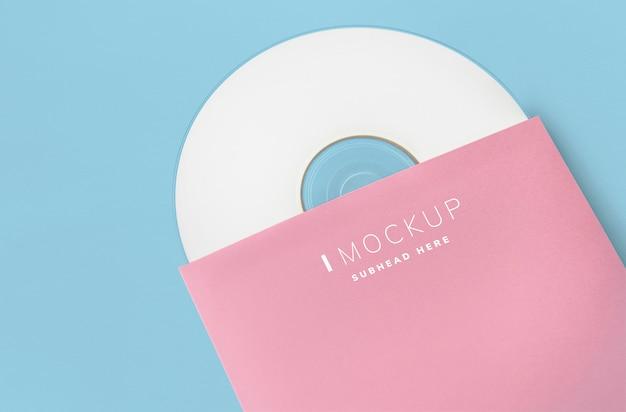 Matériel promotionnel, maquette de paquet de cd Psd gratuit