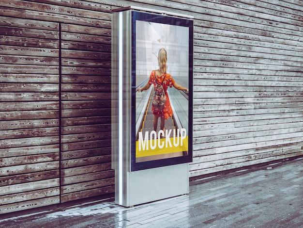Mockup billboard PSD Premium