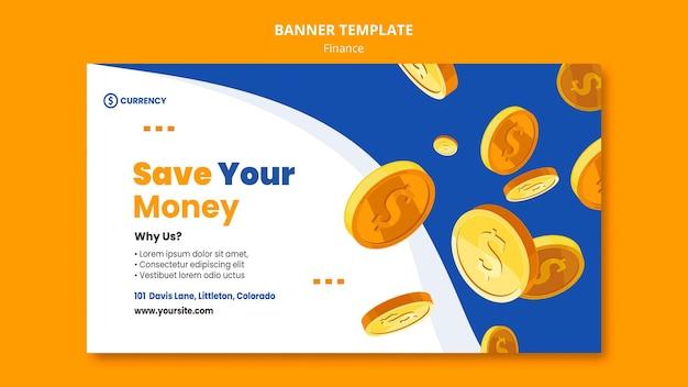 Modèle De Bannière De Banque En Ligne Psd gratuit