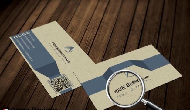 Modele De Carte Visite Infographie