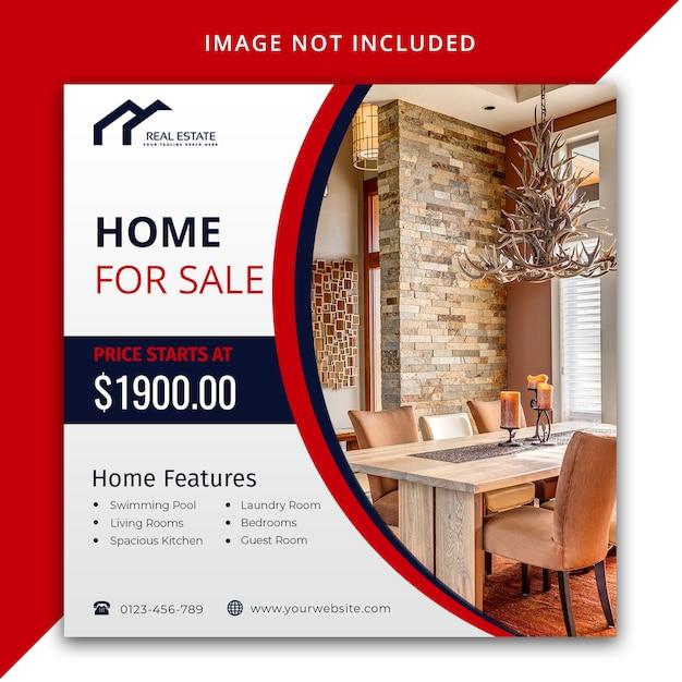 Modèle De Conception De Poste Immobilier PSD Premium