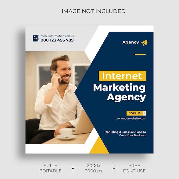 Modèle De Flux De Publication Instagram Marketing Numérique Psd gratuit