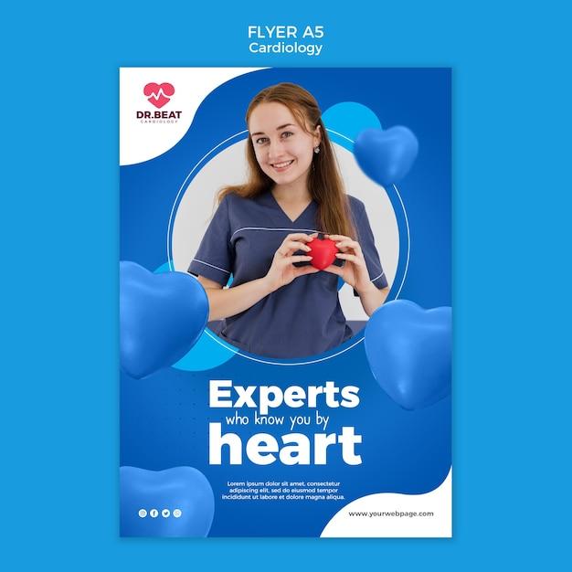 Modèle De Flyer D'experts Qui Vous Connaissent Par Cœur Psd gratuit