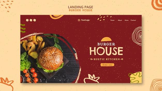 Modèle D'histoires Instagram Burger House Psd gratuit