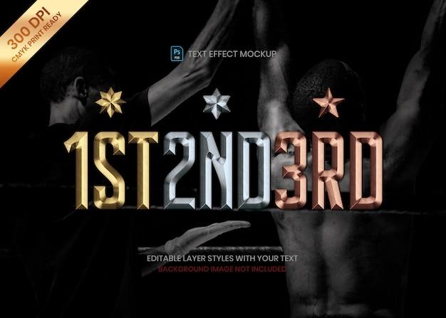 /& 10 X médailles d/'or Star récompense concours trophée Sports sertis métal