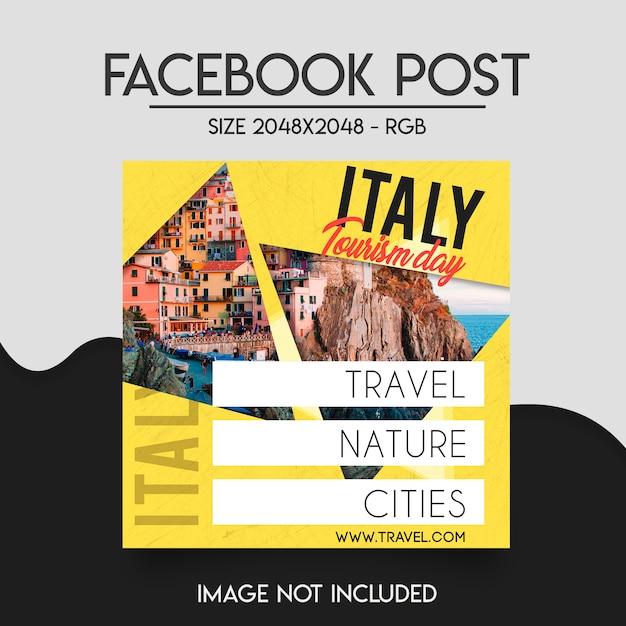Modèle de publication facebook PSD Premium