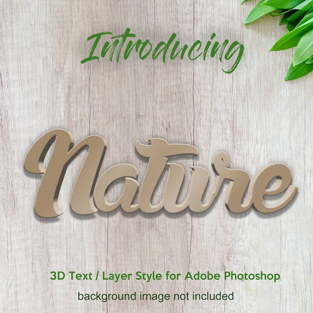 Mur en béton texturé 3d effets de texte texturés dans un style de couche photoshop PSD Premium