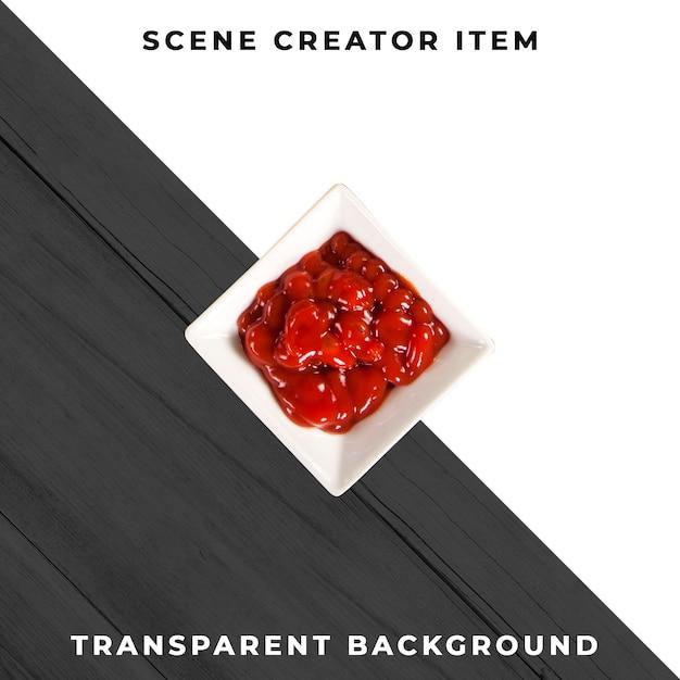 Objet De Plaque De Sauce Psd Transparent Psd gratuit