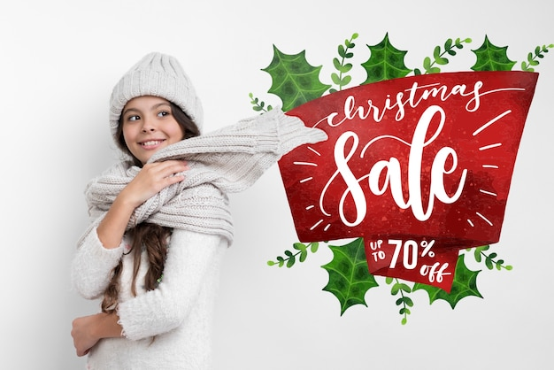 Offres spéciales disponibles sur la saison d'hiver Psd gratuit