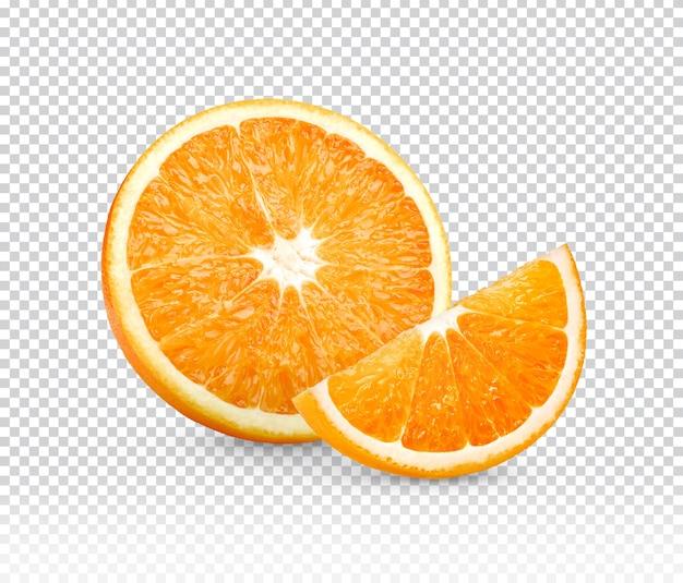 Orange En Tranches Isolé PSD Premium