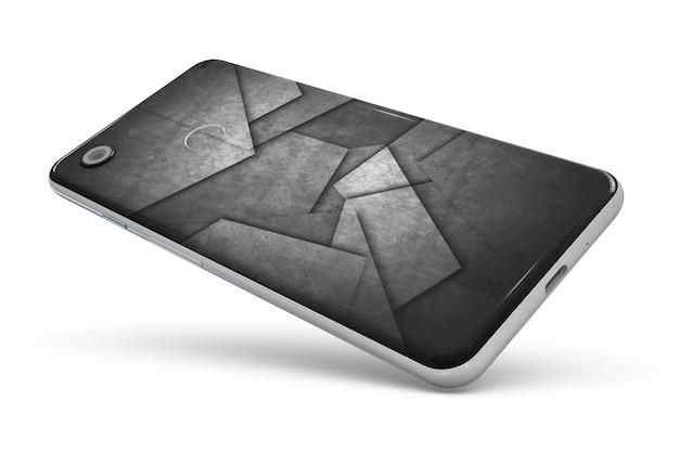 Peau De Smartphone Isolée Psd gratuit