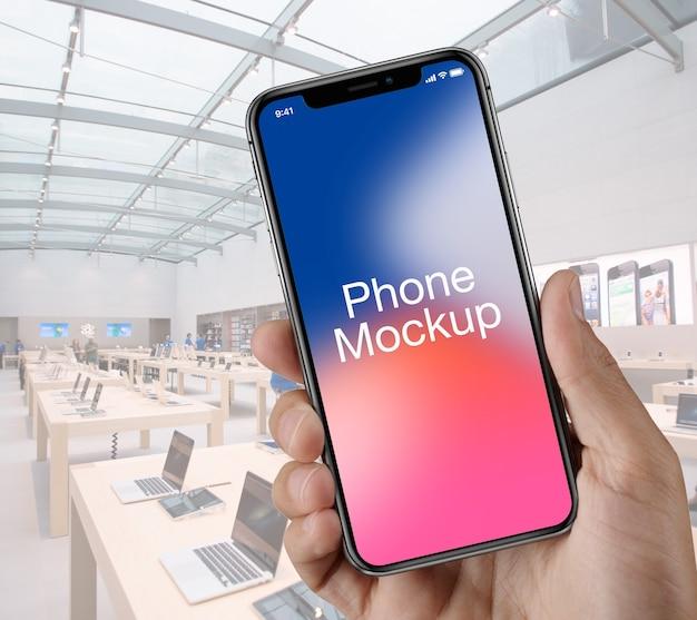 Phone-mockup PSD Premium