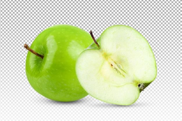 Pomme Verte Isolée PSD Premium