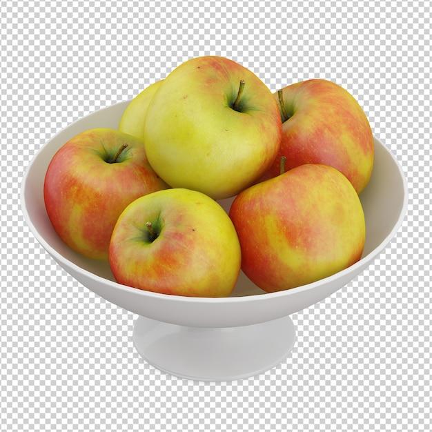 Pommes isométriques PSD Premium
