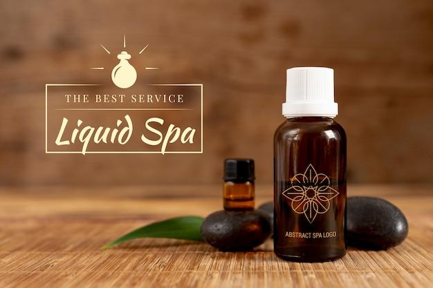 Produit Organique Et Liquide Au Spa Psd gratuit