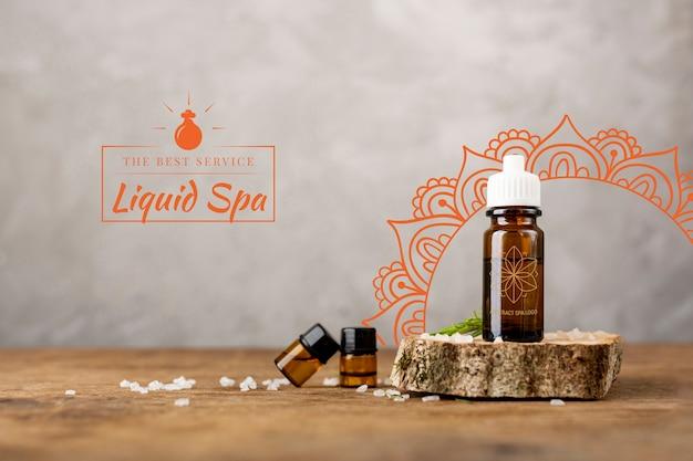 Produits Naturels Gras Pour Massage En Spa Psd gratuit