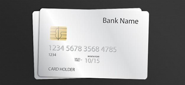 Psd modèle de carte de crédit Psd gratuit
