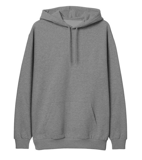 Pull à capuche gris PSD Premium
