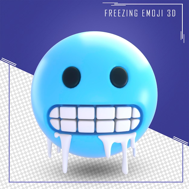 Rendu 3d D'emoji Pleurer Isolé PSD Premium