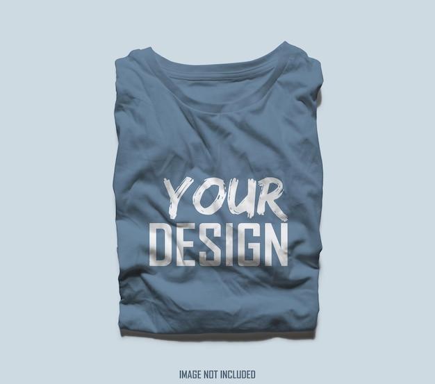 Rendu De Conception De Maquette De T-shirt PSD Premium