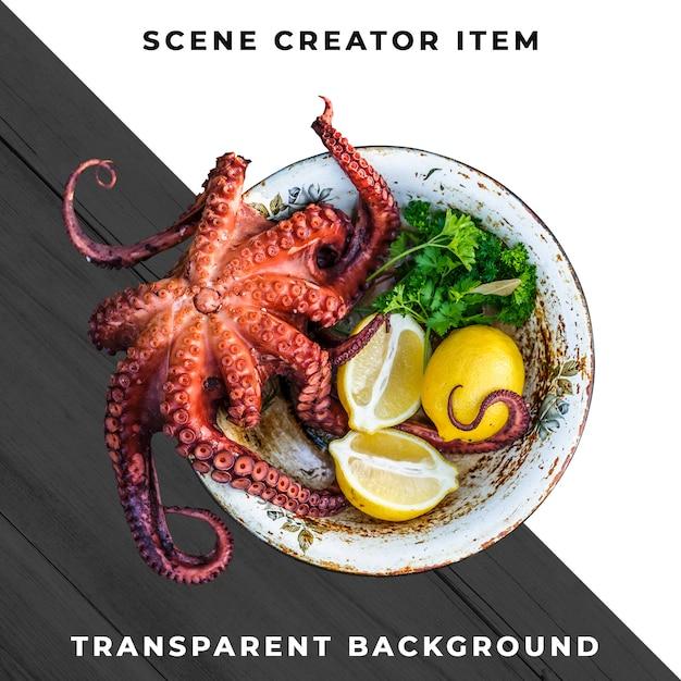 Repas De Fruits De Mer Transparent Psd PSD Premium