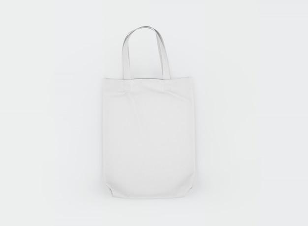 Sac Cabas En Tissu Blanc Psd gratuit