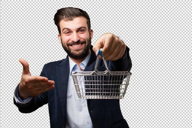 Senior belle femme avec un téléphone mobile PSD Premium