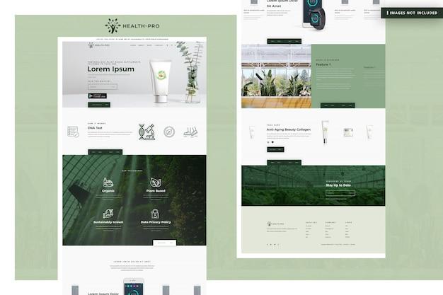 Site Web De Santé Pro PSD Premium