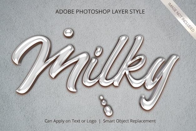Style D'effet De Texte De Maquette 3d PSD Premium