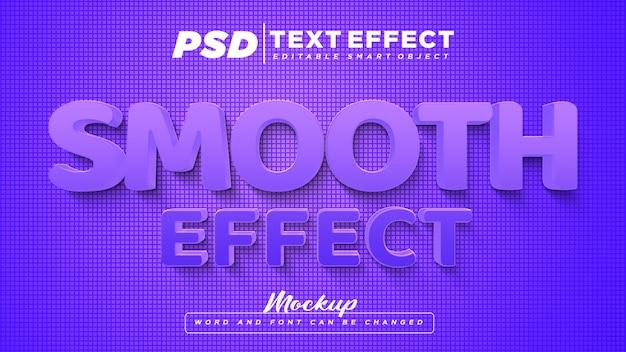 Texte Modifiable D'effet De Texte Lisse PSD Premium