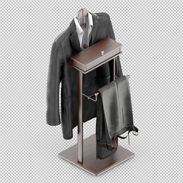 Tissu Isométrique Rendu 3d Isolé PSD Premium