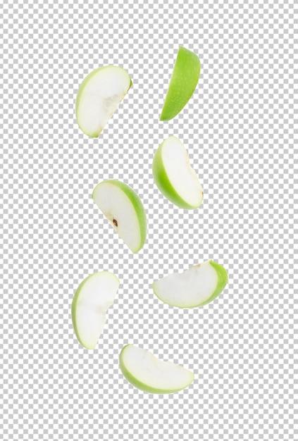 Tomate Tranche Pomme Verte Mûre Pour Votre Conception PSD Premium
