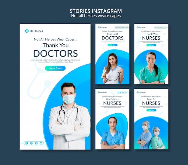 Tous Les Héros Ne Portent Pas De Capes Instagram Psd gratuit