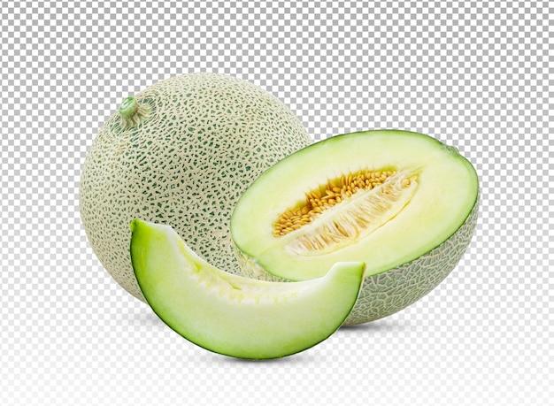Tranche De Melon Isolé PSD Premium