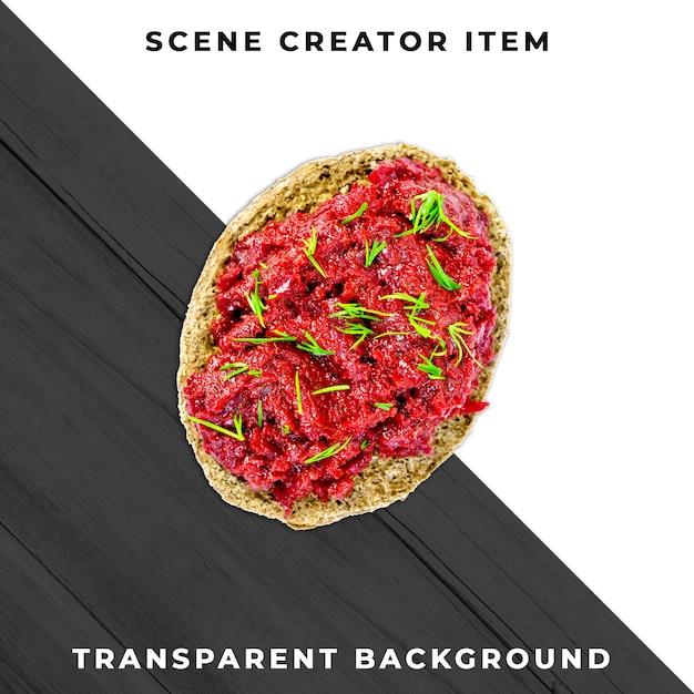 Tranche De Sandwich Psd Transparent PSD Premium