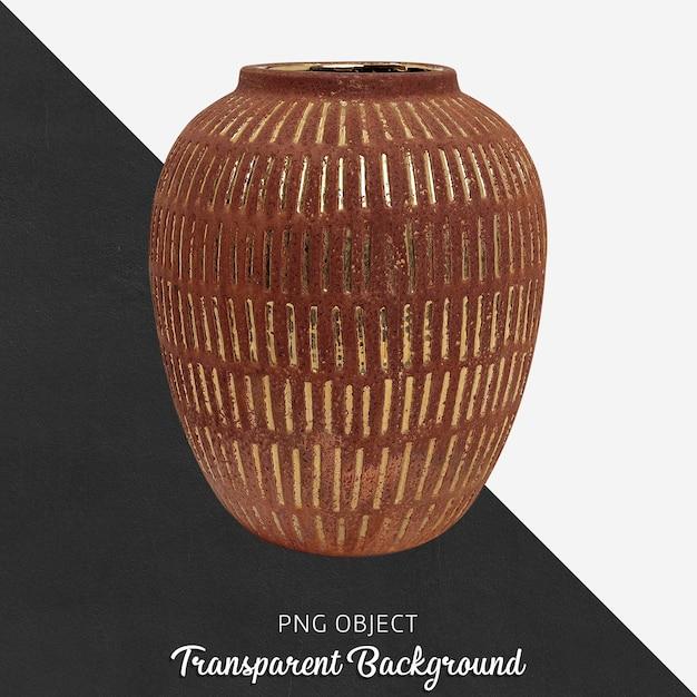 Vase Décoratif En Bois PSD Premium