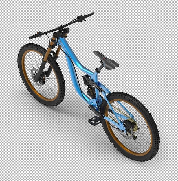 Vélo 3d Isolé. PSD Premium