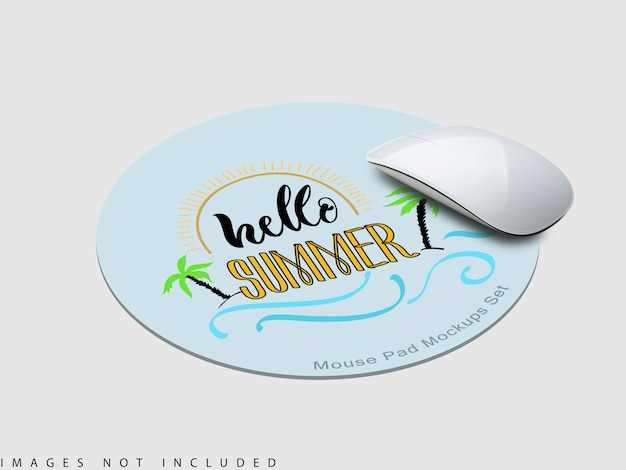 A maquete do mouse pad 1 Psd Premium
