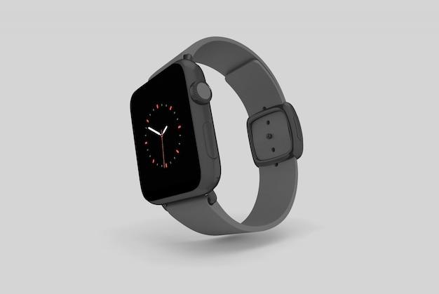 A maquete do relógio inteligente Psd Premium