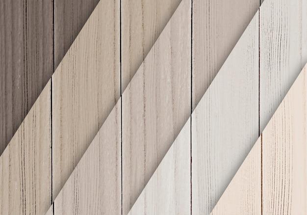 Amostras de assoalho de madeira texturizado fundo Psd grátis