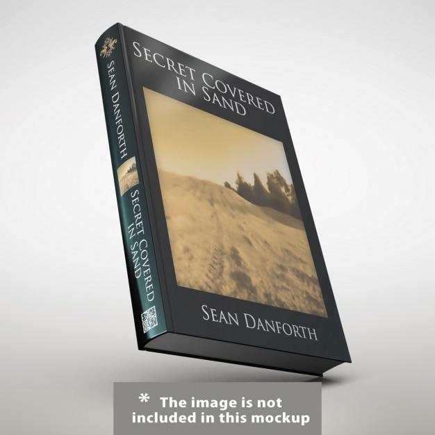Apresentação da capa do livro realista Psd grátis