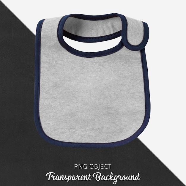 Babete cinza transparente Psd Premium