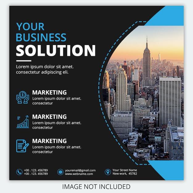 Banner de negócios corporativos Psd Premium